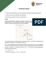 No.2 Pendulo Simple  (Virtual)