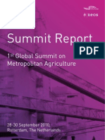 1st Global Summit On Metropolitan Agriculture