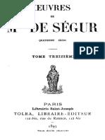 OEuvres de Mgr de Segur (Tome 13) 000000851