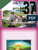 Principio Nº 37 - La patria de los redimidos