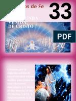 Principio Nº 33 - La segunda venida de Jesús