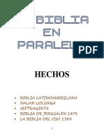 La Biblia en paralelo - HECHOS