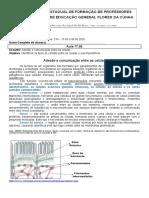 04 Aula programada Biologia Turma 21N Profa Sandra Polino 15 a 30 de junho