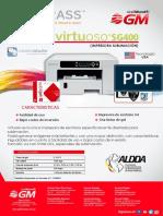 SAWGRASS-VIRTUOSO-SG400-FICHA-TECNICA
