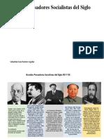 Grandes Pensadores Socialistas del Siglo XIX Y XX