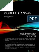 Modelo CANVAS Energymusic