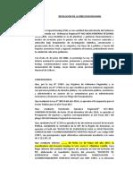 RESOLUCION DE APROB. 01