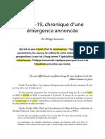 1 Texte 1 Coronavirus FR