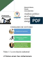 Elementos para el análisis político en el sector minero energético