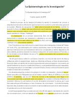 La epistemología en la investigación.pdf