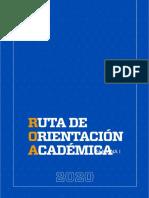 RUTA DE ORIENTACIÓN ACADÉMICA PARA EL ESTUDIANTE (ROA)