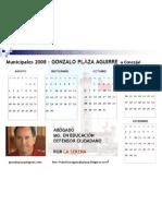 Calendario GPA 3 2008 ff 22
