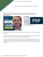 Resumo da Declaração Universal dos Direitos Humanos _ Resumo Escolar.pdf