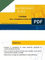 5. Marco teorico Estabilidad en redes eléctricas