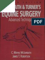 Equine Surgery Advanced Techniques
