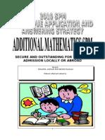 Add Math Spm - English