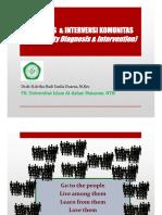 2. DIAGNOSIS & INTERVENSI KOMUNITAS [Compatibility Mode]