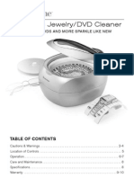 Ultasonic Jewelry and DVD Cleaner