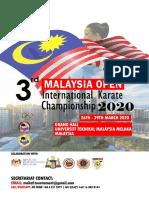 (International) 3rd Malaysia Open
