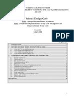 Seismic Design Code