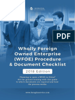 Hongda - WFOE checklist 2018