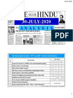 30-07-2020- Double Page Print-Friendly - Handwritten Notes - Shankar IAS Academy