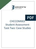 DCS - CHCCOM003 - Task  2 Case  Studies.V1.190305.docx