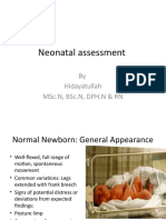 assessment of neoborn final