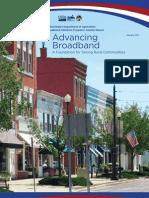 USDA - RUS BIP Broadband Stimulus Report - January 2011