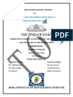 training file Time of india