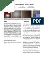 Two-Shot SVBRDF Capture for Stationary Materials