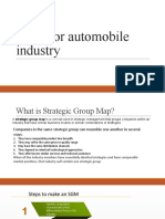 SGM for automobile industry