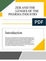 PESTLE & Porter's 5 Forces Analysis - Pfizer & Pharma Industry