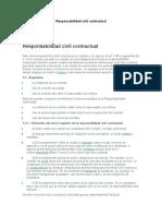 Responsabilidad civil contractual