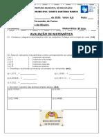 AVALIAÇÃO DE MATEMÁTICA 8º ANO.docx