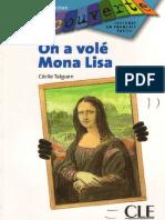 On a Vole Mona Lisa Niveau 3 Livre 3