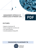 Management of TB in primary care