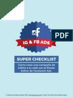Super checklist para crear una campaña de trafico a la web