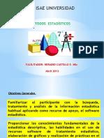 CLASE 1  ESTADISTICA  OPCIÓN DE GRADO