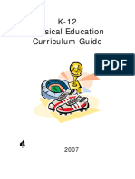 Complete Curriculum - K-12 - Physical Education Curriculum Guide73139