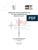 40. MEMORIA DE CÁLCULO DE MONOPOLO DE 24M CON 3 OPERADORES