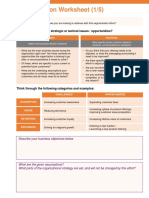 Segmentation Worksheet