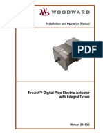 Proact Digital Plus Electric Actuator User Manual