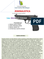 ppt BALISTICA FORENSE