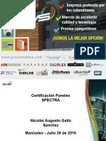 Certificación SP4000