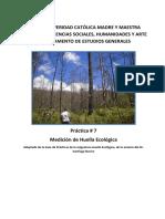 Práctica 7 Huella Ecologica