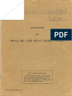 Handbook on M2A4 M3 and M3A1 Light Tanks March 1942