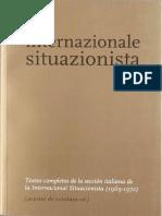 Internacional Situacionista - Sección italiana.pdf