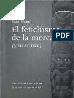 K. Marx y A. Jappe - El fetichismo de la mercancía (y su secreto).pdf