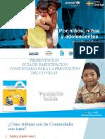 PRESENTACIÓN GUÍA PARTICIPACIÓN COMUNITARIA PA.